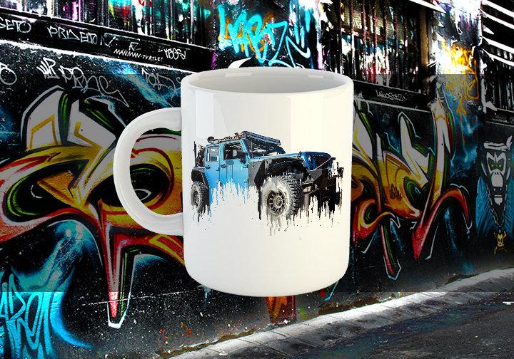 Jeep Liquid Metal Mug Jeep Liquid Metal Mug