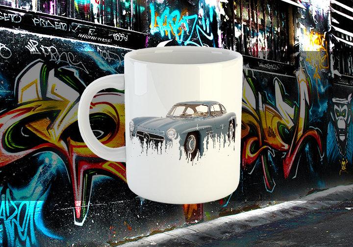 Mercedes Classic Liquid Metal Mug Mercedes Liquid Metal 300 Mug