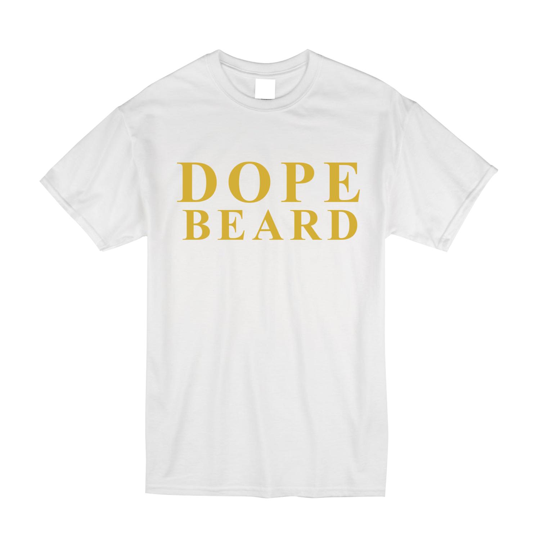 Dope Beard T-Shirt (Gold)