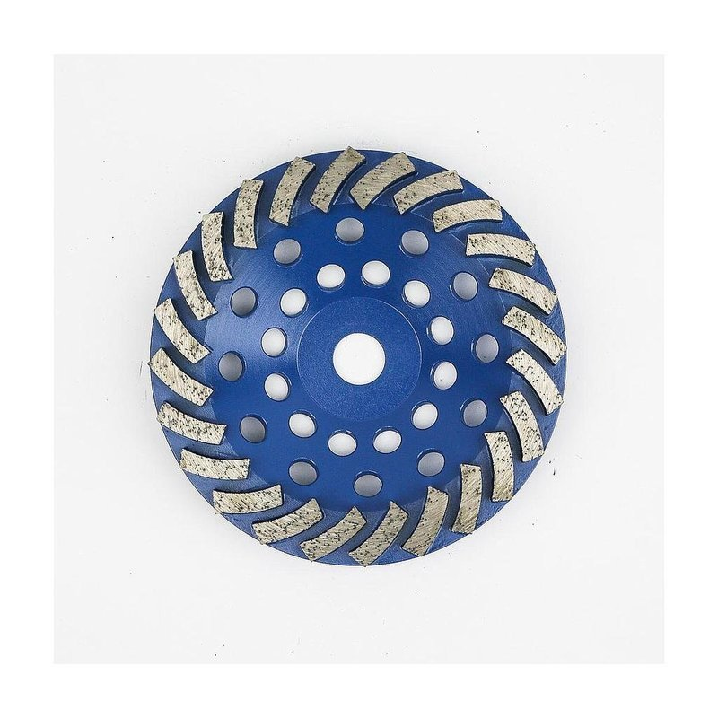 180MM TURBO CUP DISC 6MM MF - BLUE