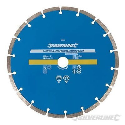DIAMOND BLADE SEGMENTED 230MM TURBO