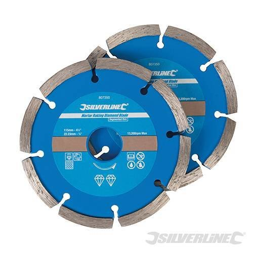 DIAMOND BLADE segmented 115MM