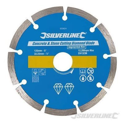 DIAMOND BLADE segmented 125MM
