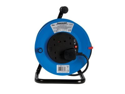 Cable Reel 240V Freestanding 25M 13A 25m 4SOCKET