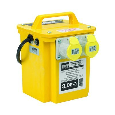 5KVA Triple Outlet (2 x 16 Amp, 1 x 32 Amp) Transformer 240V - 110V