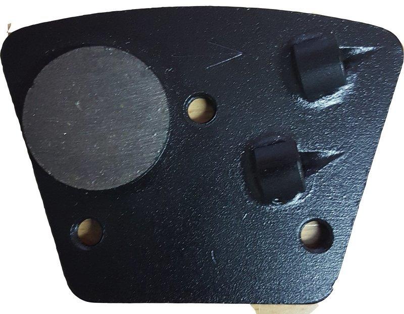 PCD tool 3 bolt trapezoid