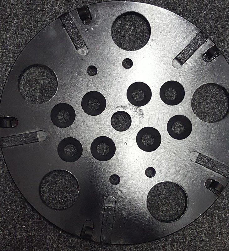 DIAMOND GRINDING PLATE 250MM PCD