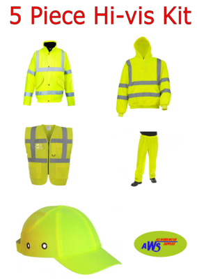 5 Piece Hi - Vis Kit