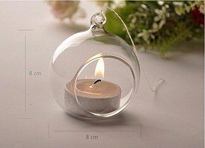 confezione 20 portacandele vetro da appendere o da tavolo