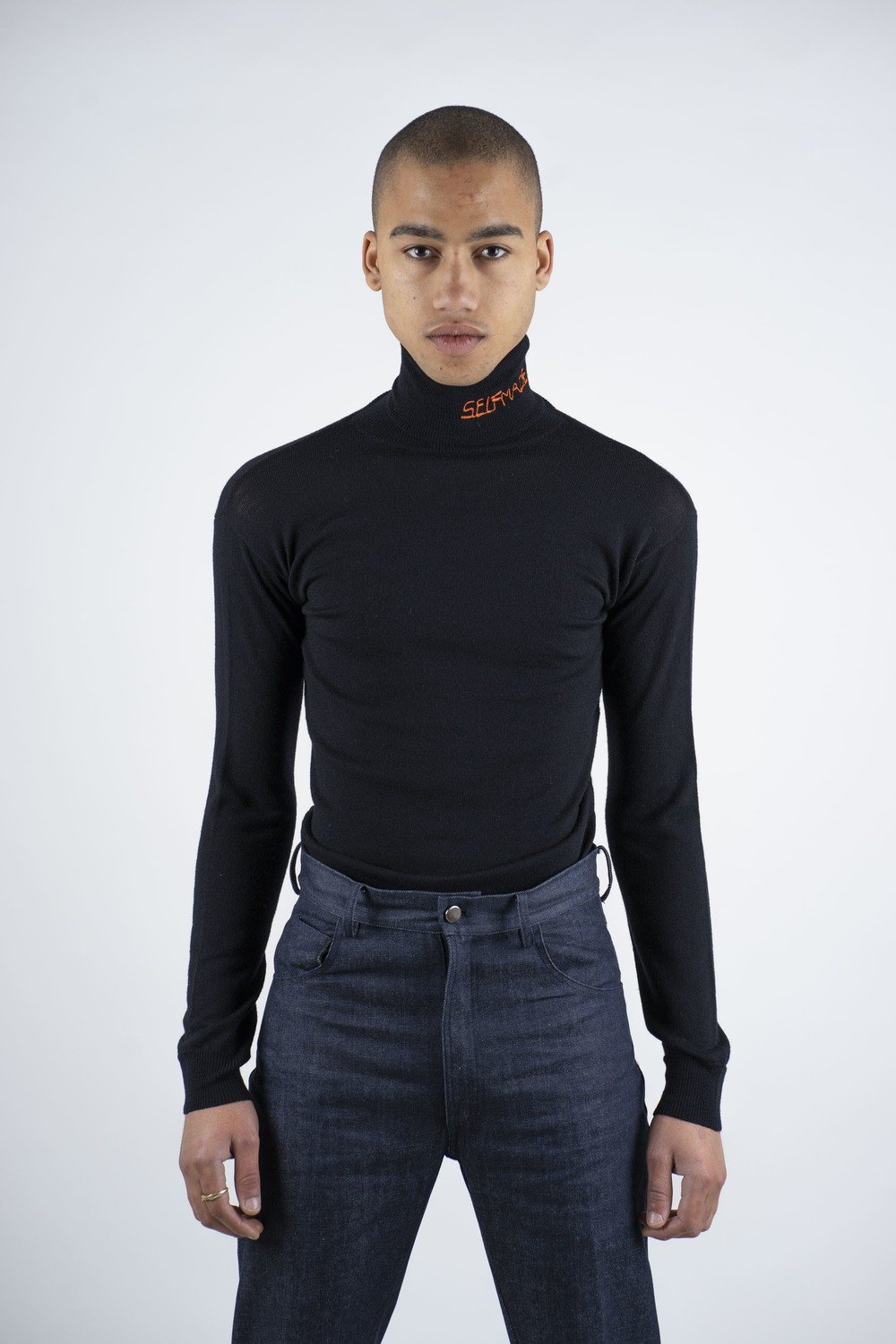 """Black""Turtleneck"