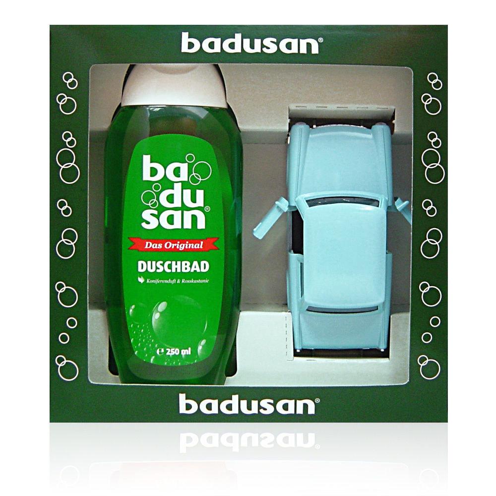 Geschenkset Badusan - Trabi blau