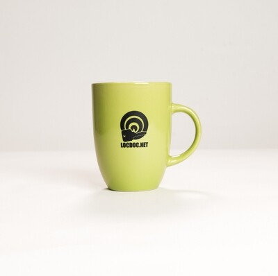 Minimalist 70s Avocado Green Mug - 12oz