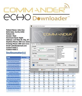 Commander Echo Downloader Software AK141