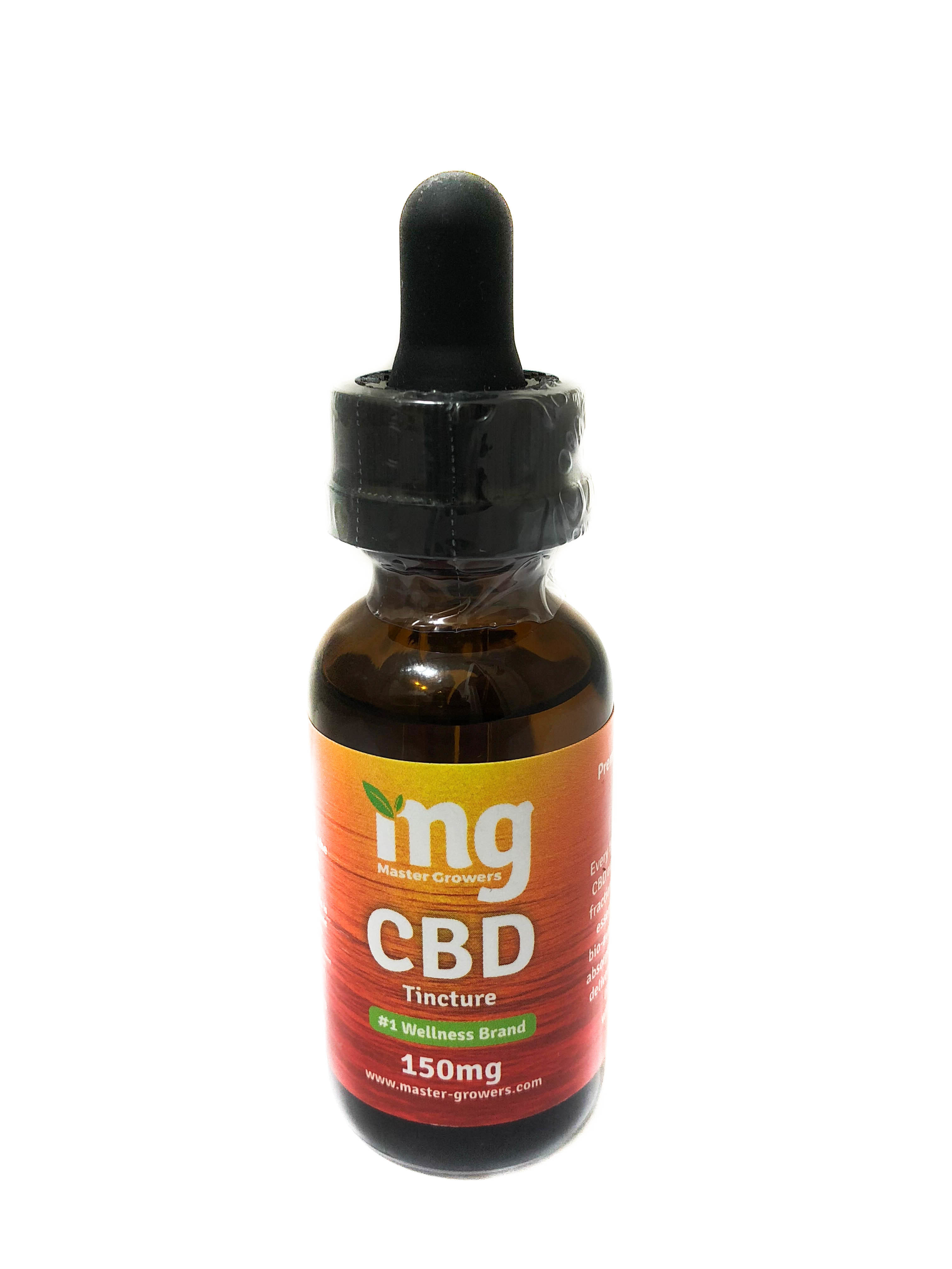 Master Growers: 150 mg CBD Sublingual Drops 01