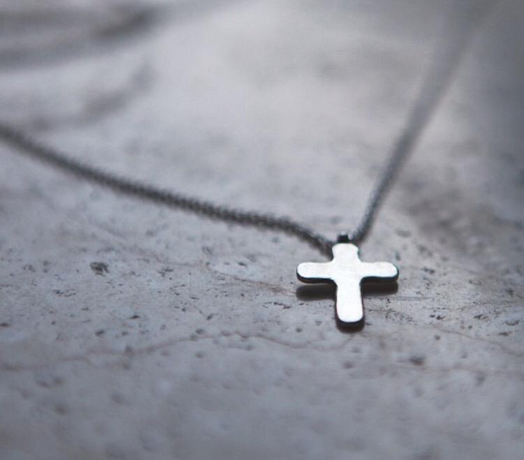 Плоский крестик