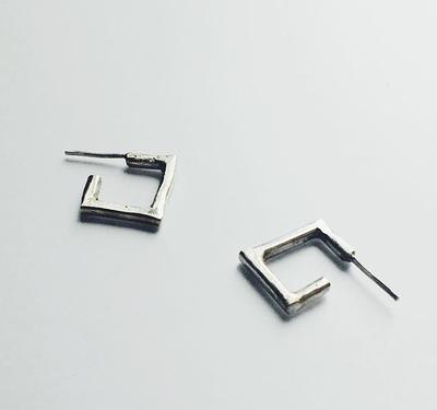 Серьги - квадраты