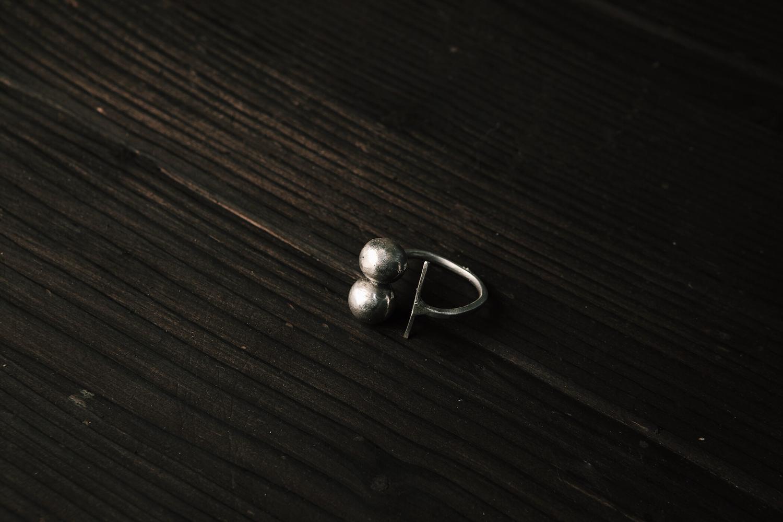 Разъемное кольцо с шариками