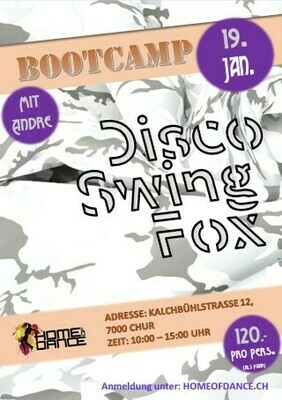 Disco Swing Bootcamp