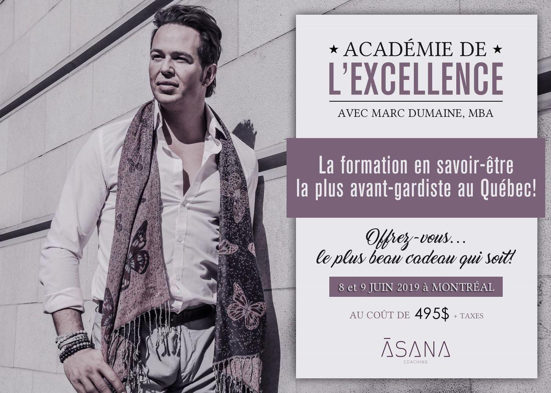 L'Académie de l'Excellence 2019