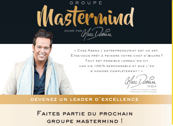 Groupe Mastermind Re/Max du Cartier