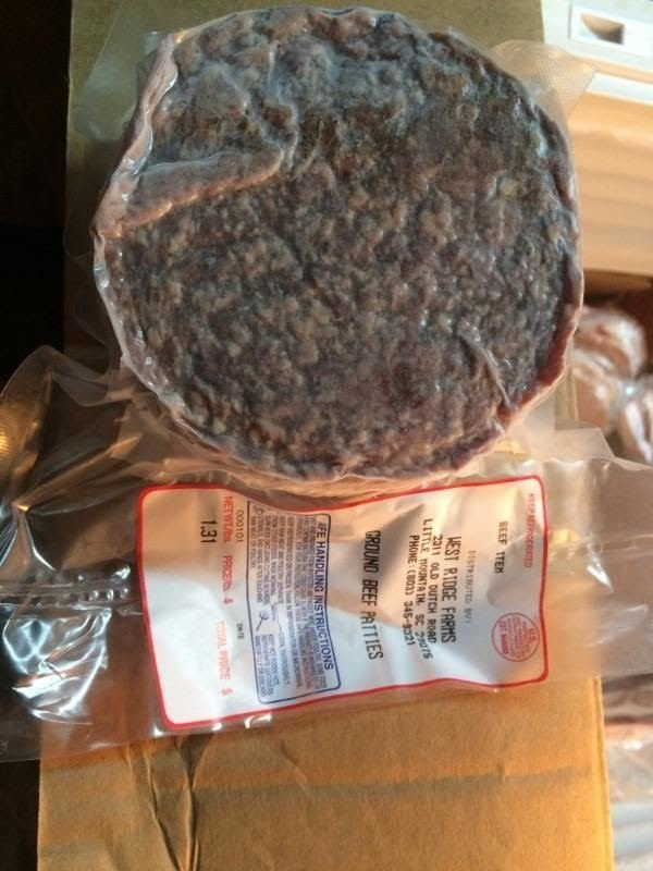 West Ridge Farm's - 1/3 Pound Hamburger Patties
