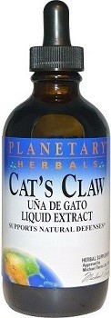 Cat's Claw Liquid Extract Planetary Herbals