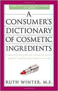 Consumer's Dictionary of Cosmetic Ingredients B-CDCI-WInter