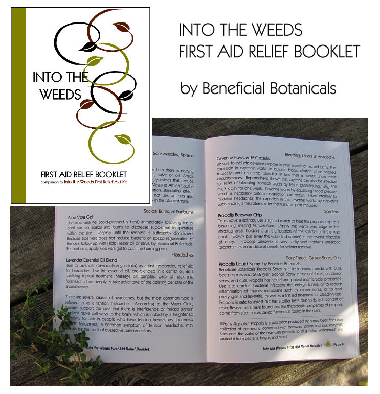 Into the Weeds First Aid Relief Booklet WBN-ITW-FARK-Booklet