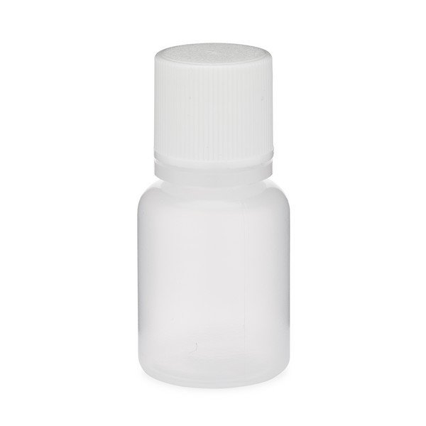Natural LDPE Plastic Bottle with Cap