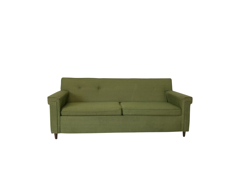 Mid Century Modern Retro Pull-Out Sofa
