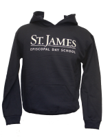 Hooded Navy Sweatshirt - Youth Small