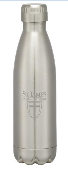 Stainless Steel Logo Bottle - 16oz