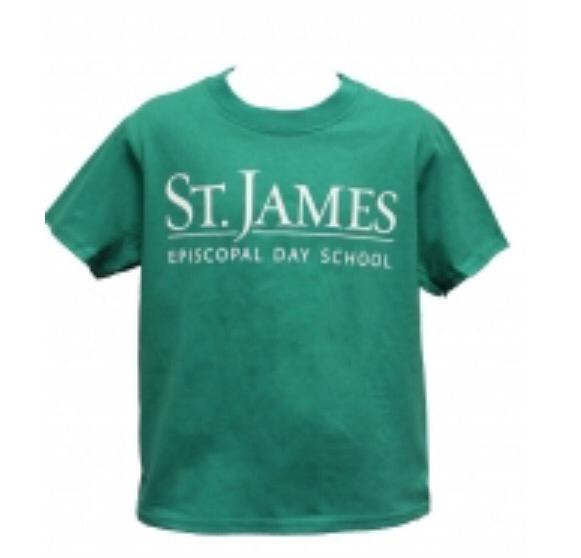 S/S Green Spirit Shirt - Adult Large