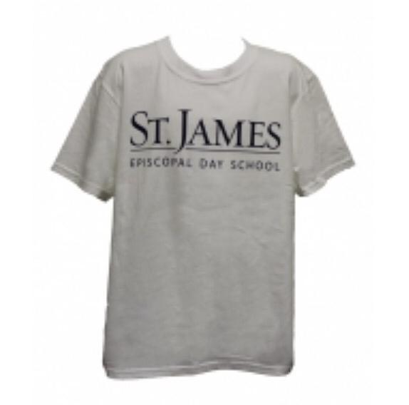 S/S White Spirit Shirt - Adult Large
