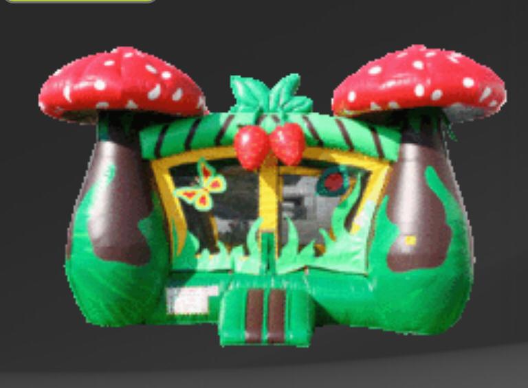 Booth - Jaw Breaker Jump House (Little Kids)