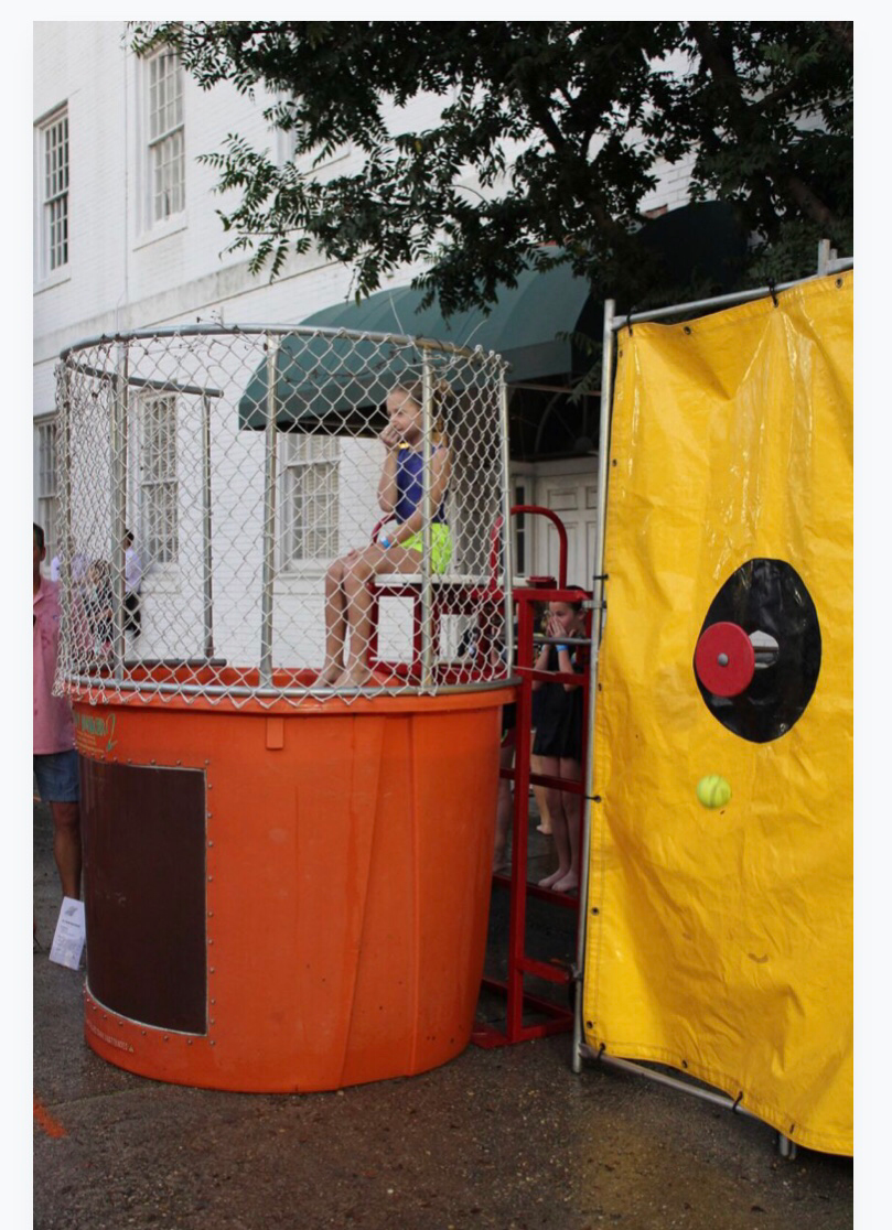 Booth - Bottle Cap Dunk Booth