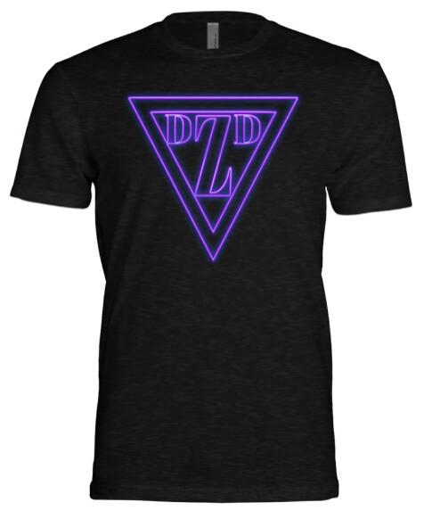 DZD Purple Neon (Triblend Crew)