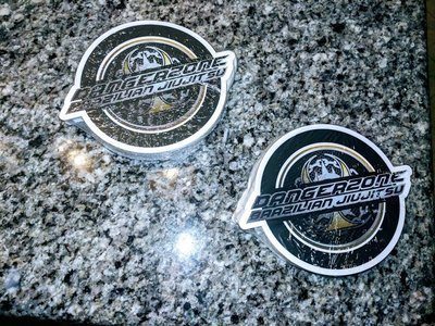 Dangerzone Circle Logo Die-cut Decals 2.0