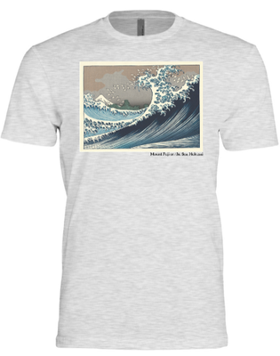 Hokusai: Mount Fuji on the Sea  (Triblend Crew)