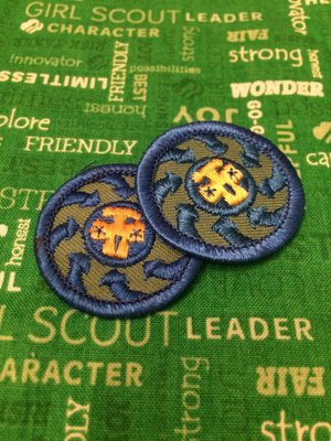 Girl Scouting Everywhere (blue only)