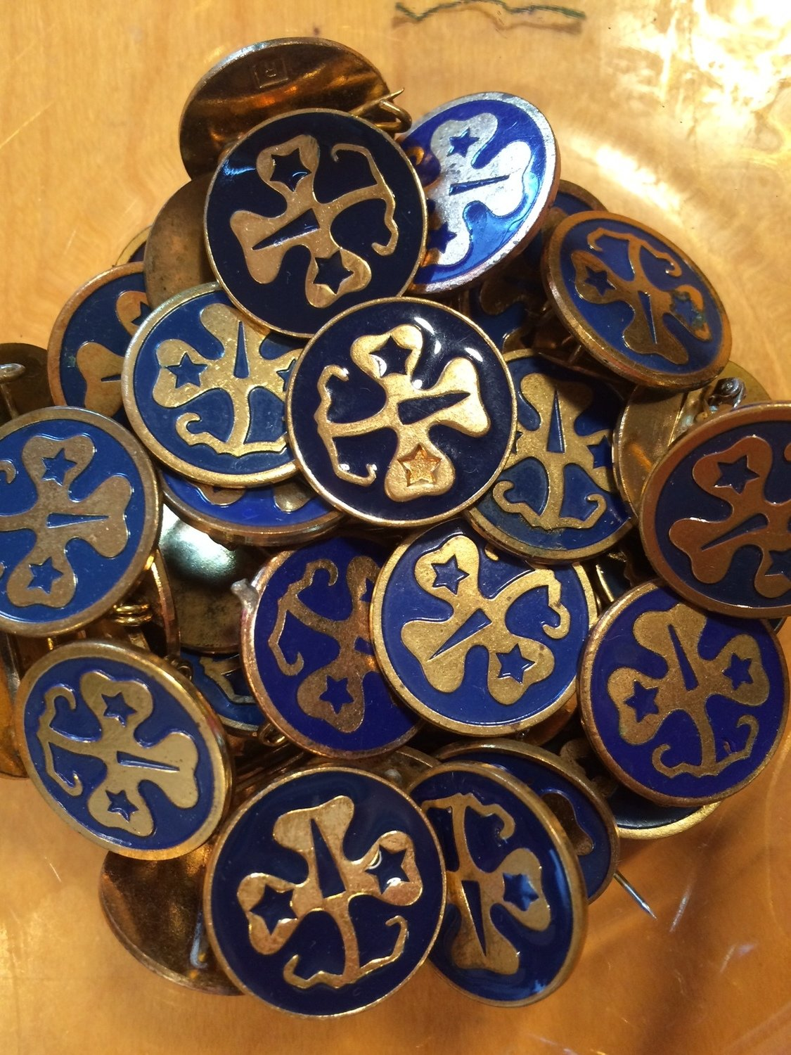 Vintage WAGGGS pins