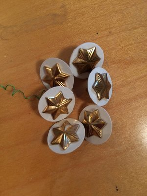Vintage/used Cadette star pin and disc