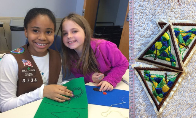 1 Youth Admission: Brownie Stitch It Together, March 2019