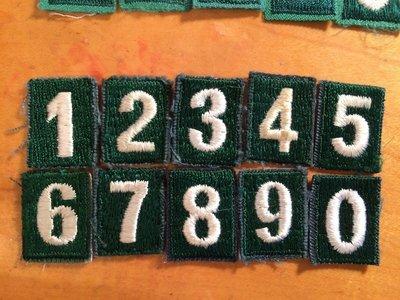 JCSA Numbers Dark #1