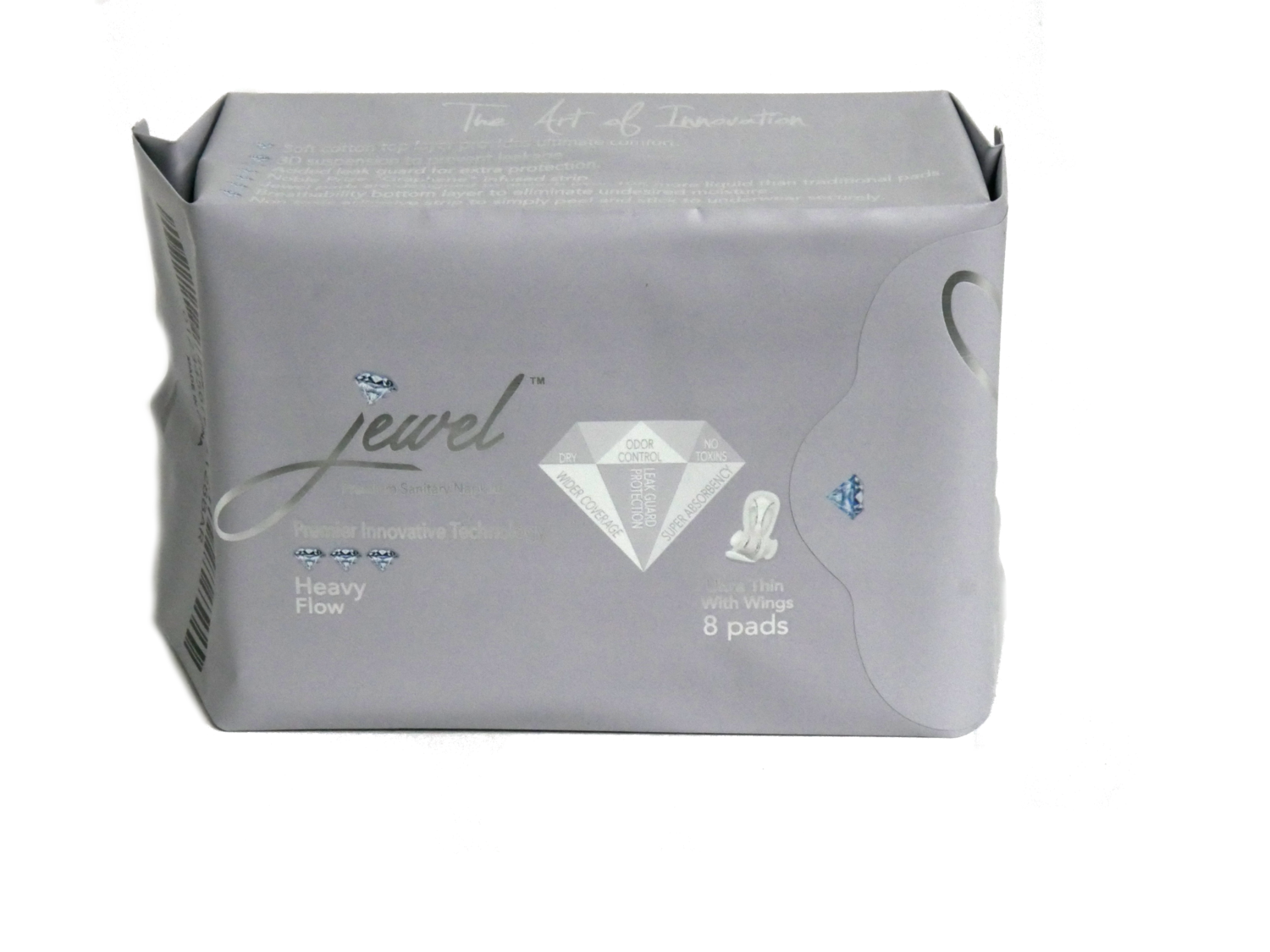 JEWEL PADS: NIGHT USE FOR HEAVY FLOW