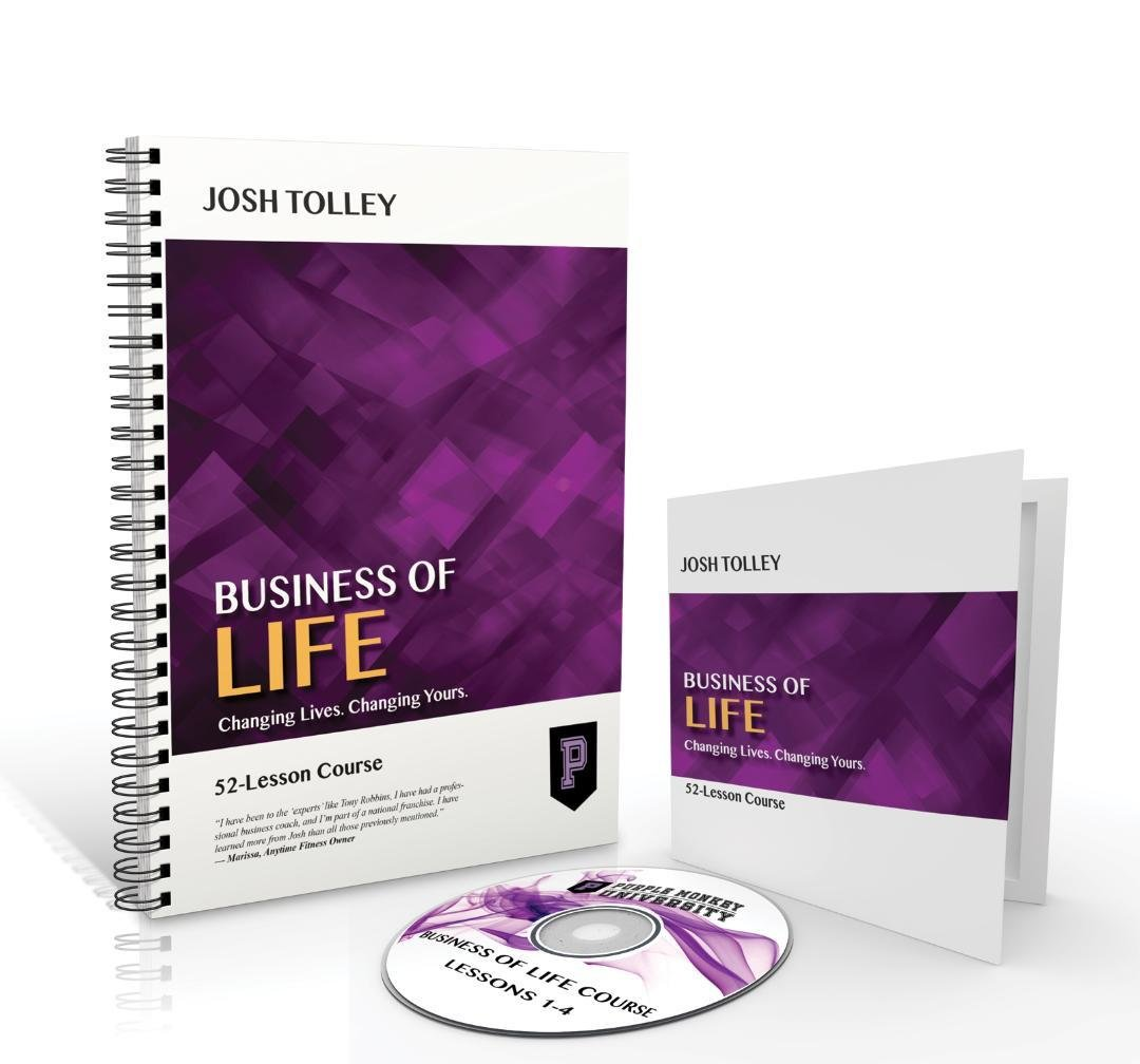 Purple Monkey University - Business of Life DVD & Workbook Package