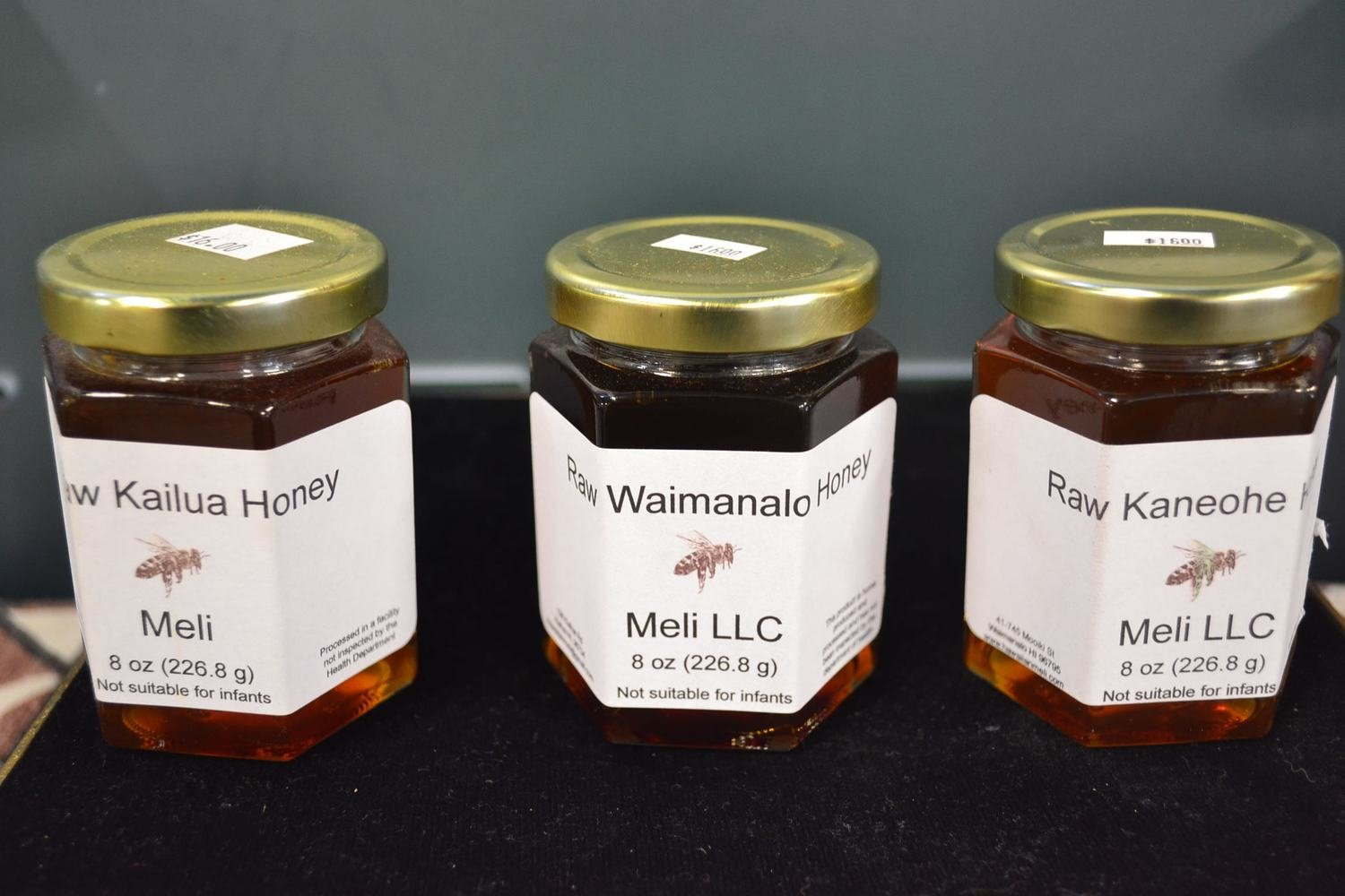 Honey - Waimanalo 8oz $16 (Meli)