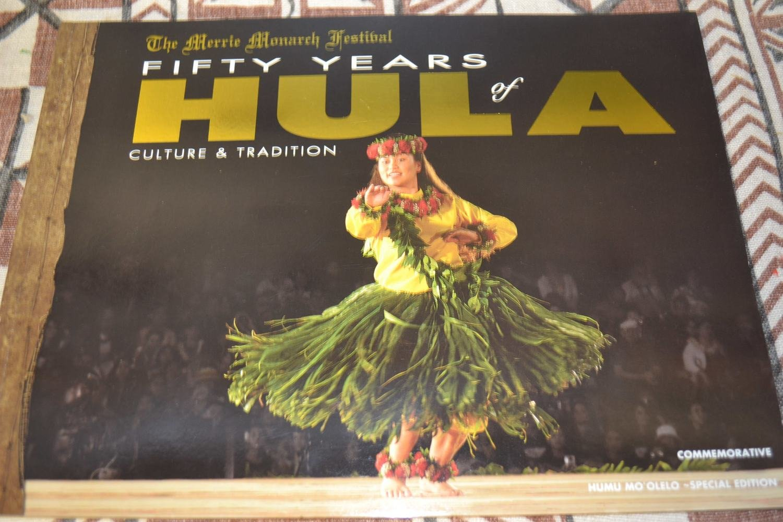 HULA 50 YEARS BOOK