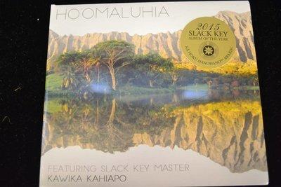 Hoomaluhia  CD by Kawika Kahiapo