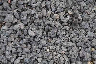 Lava Rock Black 3/4 in